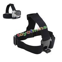 Elastic Adjustable Head Strap Mount Belt for GoPro Hero 4 3+ 3 2 1 Sport Camera