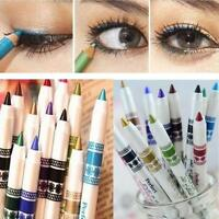12 Colors Set Glitter Lip liner Eye Shadow Eyeliner Pen Makeup Cosmetic Pencil