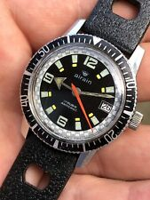 Vintage Airain By Dodane Mens Skindiver Diver Watch 35,5mm FE-140-1