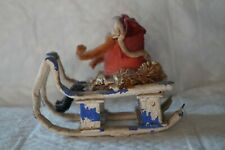 Antique Santa on Sled