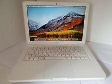 "Apple White MacBook 2.40Ghz 8GB 500GB 13.3"" Unibody Laptop  a1342"