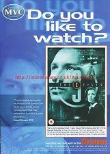 The X Files Season 3 MVC 2002 Magazine Advert #7051