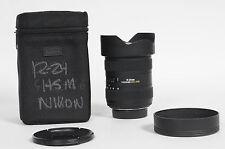 Sigma AF 12-24mm f4.5-5.6 II DG HSM Lens Nikon                              #716