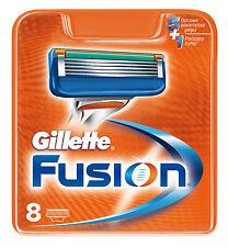 Gillette Fusion (pack of 8 blades) cartridges