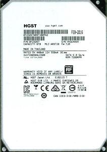 HUH728080ALE600  P/N: 0F23267 MLC: AR87J0  HGST SATA 8TB   VKGU