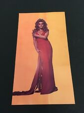 RARE Vintage ANN MARGARET Las Vegas HILTON promotional photo postcard
