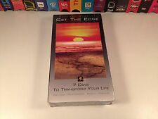 Get The Edge: 7 Days To Transform Your Life Sealed VHS 2000 Anthony Robbins