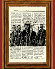 Tom Petty and the Heartbreakers Dictionary Art Print Poster Picture Vintage Gift