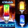 4 Models E27 B22 5W LED Burning Light Flicker Flame Bulb Fire Effect Lamp Decor