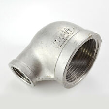 """1-1/4""""X1/2"""" Female Threaded Elbow Reducer Pipe Fitting 90 Degree SS304 NPT Hot"""