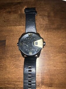 DIESEL  DZ7377 Black Dial Men's Watch Genuine Preowned Cheapest Price! $$