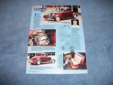 1933 Ford 5-Window Coupe Street Rod Article