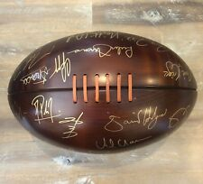 Memorabilia Rugby Ball Signed by ALL 2003 World Cup Team Captains - (AUTHENTIC)