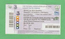 Orig.Ticket   WM Qualifikation  12.10.2012   IRLAND - DEUTSCHLAND  !!  TOP