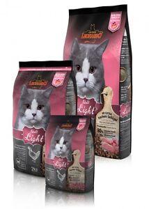 Leonardo Light 2 kg Katzenfutter Trockenfutter Katze Diät Übergewicht Futter Cat