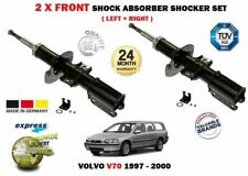 FOR VOLVO V70 2.0 2.3 2.4 2.5 TDI 1997-2000 2 X FRONT SHOCK ABSORBER SHOCKER SET