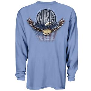 NRA Eagle Non Negotiable Long Sleeve T-Shirt 2nd Amendment, Lg - 3XL Authentic