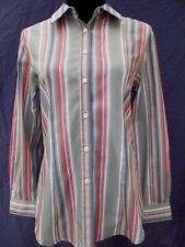Quality ORVIS Long Sleeve Striped Shirt / Blouse  SIZE: 8   IMMACULATE CONDITION
