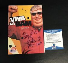 DON VITO VINCENT MARGERA SIGNED AUTO VIVA LA BAM SEASON 3 DVD BAS BECKETT COA