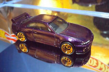2018 Hot Wheels REAL RIDERS CUSTOM NISSAN SKYLINE GT-R R33, New in Purple, Loose