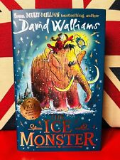 The Ice Monster by David Walliams & Tony Ross (Hardcover 2018) New Book.