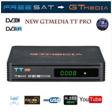 Decodificador de Receptor de TV Satelite GTMEDIA TTPro DVB-T2 DVB-C FullHD H.265