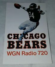 Chicago Bears Football Vintage Sports Schedules