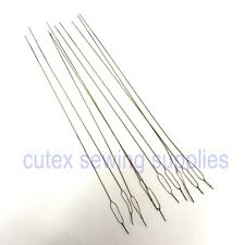Pack of 12 Overlock Serger Looper & Needle Threading Wires / Threaders