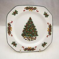 """Johnson Brothers CLASSIC VICTORIAN CHRISTMAS Square Salad Plate(s) 7 5/8"""" NEW"""