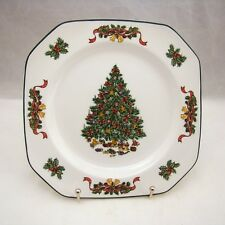 "Johnson Brothers CLASSIC VICTORIAN CHRISTMAS Square Salad Plate(s) 7 5/8"" NEW"