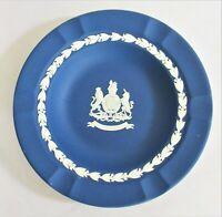Wedgwood Dark Blue Jasperware Silver Jubilee Trinket / Pin Dish