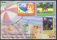1997 New Zealand~Health~Unmounted Mint~M/S~Stamp Set~ UK Seller~