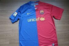 FC Barcelona 100% Original 2008/2009 Jersey Shirt L USED Good Condition [542]