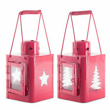 Metal Star Candle & Tea Light Lanterns