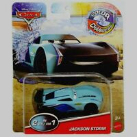 RARE Disney Pixar Cars Color Changing ( 2-in-1 ) JACKSON STORM Car Mattel