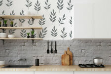 Leaves Decals, Rustic Wall Decor, Leaf Wall Decal, Nature Wall Decals