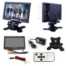 "7"" TFT LCD HDMI VGA AV Monitor HD Car Display For CCTV Computer Raspberry PI 3B+"