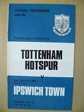 1971 League Division One- TOTTENHAM HOTSPUR v IPSWICH TOWN, 2nd Oct