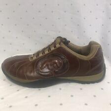 Mark Ecko Unltd Men's Driving Sneakers Leather Brown Shoes Size 10
