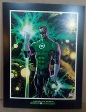 LITOGRAFIA Green Lantern #1 Original Litography 33 x 25,5 cm - USA original DC