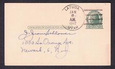 Latuda, Utah - Carbon Co. DPO (1920-1958) - 1947 Postal Card