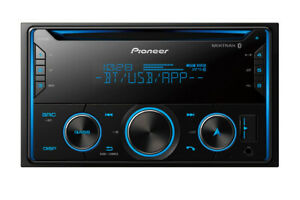 Pioneer FH-S520BT RB Double DIN CD MP3 Digital Media Player Bluetooth MIXTRAX