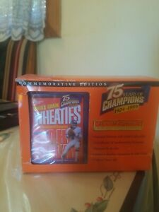 Wheaties 75 Years If Champ 24 K Gold Signature Limited Edition John Elway