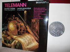TELEMANN: 2 cantatas > Ameling Nimsgern McDaniel Collegium Aureum / HM LP stereo