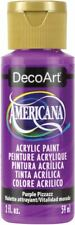 6 Pack-Americana Acrylic Paint 2oz-Purple Pizzazz - Opaque -Da-302