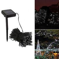 200 LED Solar Power Fairy Garden Lights String Outdoor Party Wedding Xmas