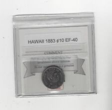 1883  Hawaii, 10 Cents , KM# 3..