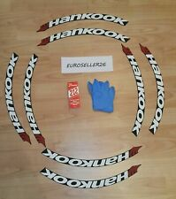 """tire lettering Hankook 1,25"""" for 14""""15""""16""""17""""18""""19""""20"""" tire. permanent 10 decal"""