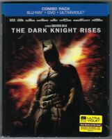 THE DARK KNIGHT RISES New, Factory-Sealed Blu-ray + DVD 3-Disc Combo 3D Cover!