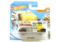Hotwheels Fast Gassin Yellow HW Metro FYC62 Short Card 1 64 Scale Sealed